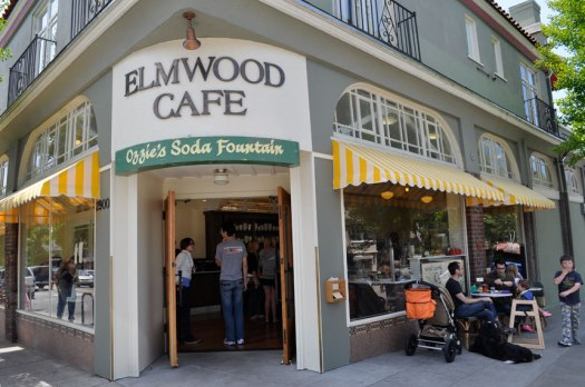The Elmwood Café on College at Russell has a storied history. Photo: Tracey Taylor